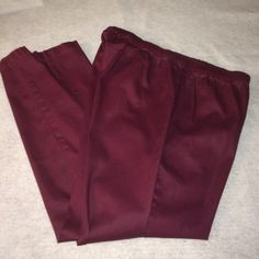 "NWOT! Simply Be Denim Wax Coated Jeggings Wine-colored jeggings. Material:  97% cotton/3% elastane. Elastic waste, pull on. Inseam:  27"". Length:  37-1/2"". Simply Be Pants Leggings"