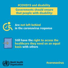 During #COVID1 governments should ensure that people with #disability: ✅ are not left behind in the response ✅ still have the right to access the healthcare they need on an equal basis with others Prayer For Healing The Sick, Prayers For Healing, Health Advice, Health Care, Cheer Picture Poses, Funny Disney Jokes, International Health, Safety Posters, Free Printable Worksheets