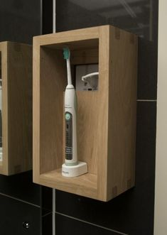 Exposing Little-Known Dangers To Excellent Teeth Health -To get Excellent Teeth Health Philips Sonicare Toothbrush will help to improve gum cleaning, whiten teeth and times plaque cleaning. Bathroom Shelves, Bathroom Organization, Bathroom Storage, Bathroom Ideas, Bath Ideas, Boho Bathroom, Downstairs Bathroom, Master Bathroom, Electric Toothbrush Holder