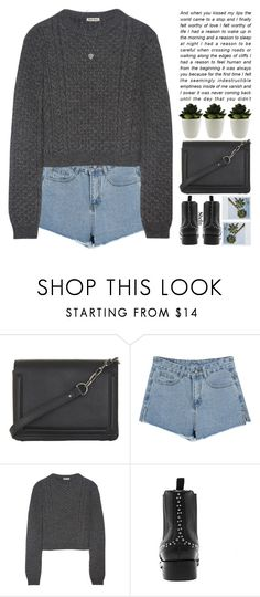 """imagine life but not bad"" by alienbabs ❤ liked on Polyvore featuring BCBGMAXAZRIA, Miu Miu, women's clothing, women, female, woman, misses, juniors, clean and organized"