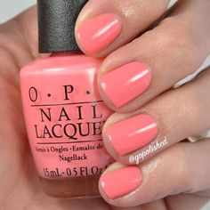 Got Myself Into Jambalaya-new from the OPI New Orleans Collection for spring/summer 2016. @gopolished #summernailcolors