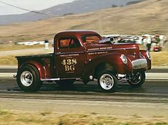 Club Ohio Admirer of old trucks, Edsels, custom mercs, Impala's and other hot rods. Hot Rod Trucks, Cool Trucks, Big Trucks, Cool Cars, Pickup Trucks, Fox Racing, Drag Racing, Ford Classic Cars, Vintage Race Car