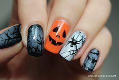 Halloween Ongles Addict #nail #nails #nailart