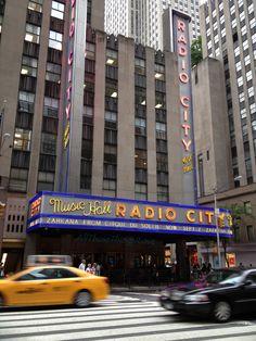 Radio City Music Hall #BlogHer12
