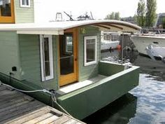 how to build a barge houseboat