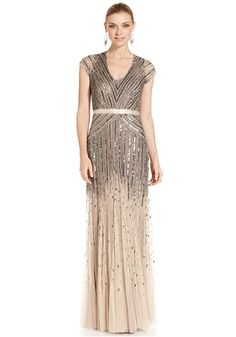 Adrianna Papell Beaded Chiffon Dress | Nordstrom - this would not ...