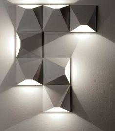 Geometric Light/Combine them to whatever shape you want
