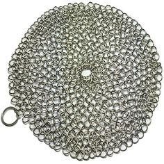 Apollo Premium Cast Iron Skillet Cleaner Stainless Steel Chainmail Scrubber Large Circular Wire Metal Pot Cleaner, Made of Rust Proof Chain Mail Apollo Brew Supply http://www.amazon.com/dp/B00SNNIXVO/ref=cm_sw_r_pi_dp_X6MWvb0H6NZTG