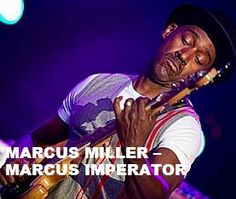 TODAY (June 14) Mr.Marcus Miller is 55.  Happy Birthday Sir. To watch his 'VIDEO PORTRAIT'  'Marcus Miller  - Marcus Imperator' in a large format, to hear  'YOUR BEST OF Marcus Miller' on Spotify, go to >>http://go.rvj.pm/5m