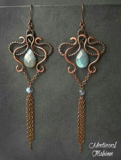 Boucle d'oreille médiéval elfique