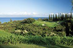 Maui + Golf = Pure Bliss Kapalua, Plantation #8
