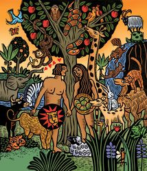 Religion and Spirituality - Sue Todd Illustration416-784-5313 sustodd@rogers.com