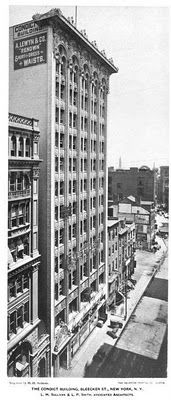 The Bayard-Condict Building designed by Louis Sullivan c. 1899.