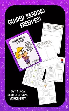 Do you need a few free guided reading sheets for your guided reading classes this week? If so, check out this post!