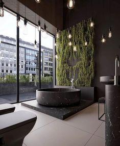 Bathroom Showroom - Bathroom Showroom design by M.Serhat Sezgin Serosez Tools used: Autodesk Max, Corona Renderer, - Spa Interior Design, Loft Interior, Interior Design Inspiration, Exterior Design, Interior And Exterior, Interior Stylist, Design Interiors, Design Ideas, Design Hotel