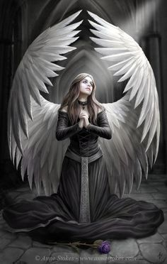 Prayer for the Fallen - 30 Mind-Blowing Examples of Angel Art <3 <3