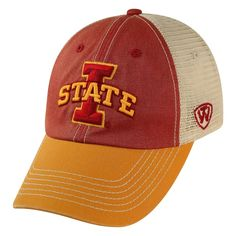 Adult Top of the World Iowa State Cyclones Offroad Cap, Men's, Med Red