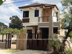 Modern small house design philippines new modern zen house design philippines simple small house Zen House Design, Modern Bungalow House Design, Modern Small House Design, 2 Storey House Design, Simple House Design, Minimalist House Design, Modern Minimalist, Zen Design, Modern Design