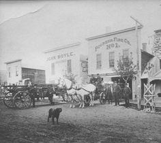 Bismarck Fire Company No. 1, Bismarck, N.D. :: State Historical Society of North Dakota (SHSND)
