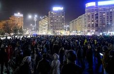 Thousands marched through the Romanian capital and other cities Sunday to protest a government proposal to pardon thousands of prisoners which critics say could reverse the anti-corruption fight.Mor