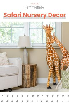 Our safari room decor is great for any nursery, playroom or kids room. We have a collection of rugs, lamps, pillow, wooden toys, wall decals and more. Safari Room Decor, Safari Nursery, Baby Room Decor, Nursery Themes, Room Themes, Girl Nursery, Nursery Decor, Jungle Baby Room, Kids Bedroom
