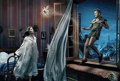Giselle Bundchen as Wendy, Tina Fey as Tinkerbelle, Mikail Barishnikov (sp?) as Peter Pan