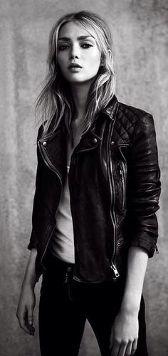 Rocking Out Leather Jacket