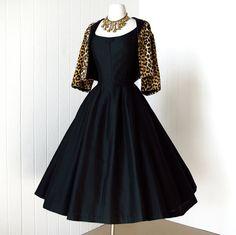vintage 1950's dress ~  GIGI YOUNG new york