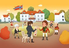 What happened in 1814 in Eidsvoll, Norway?