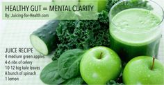 This Juice Combo Gives You Mental Clarity by Keeping Your Gut Healthy, Reducing Brain Fog and Depression Symptoms.