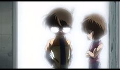 Conan and Haibara of the Detective Boys. #Anime #DetectiveConan