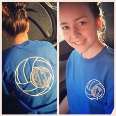 Volleyball monogrammed Shirt by BoutiqueLane on Etsy