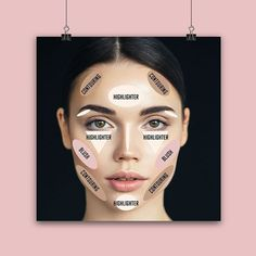 [New] The 10 Best Makeup Ideas Today (with Pictures) - Contour and makes your face and Contour Makeup, Contouring And Highlighting, Makeup Addict, Best Makeup Products, Emoji, Makeup Looks, Highlights, Halloween Face Makeup, Blush