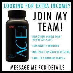 Anyone interested in working from home?     Ask me about joining my team and becoming an ACE distributor with Saba! Kits start as low as $59 plus tax/shipping.    www.aceitoffwithlogan.sababuilder.com