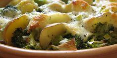 zapečená brokolice Vegetable Recipes, Mashed Potatoes, Vegetables, Ethnic Recipes, Food, Whipped Potatoes, Smash Potatoes, Essen, Meals