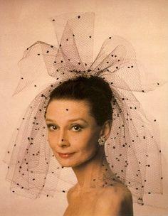 Audrey Hepburn in a publicity photo for Bloodline (1979).