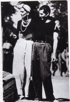 1937 - Coco Chanel & Serge Lifar