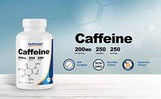 Nutricost Caffeine Pills, Per Serving Caps) Gym Supplements, Beta Alanine, Pre Workout Supplement, Caffeine, Energy Drinks, Pills