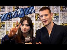 DOCTOR WHO 50th Anniversary Interviews (Matt Smith & Team) Comic-Con 2013 - YouTube