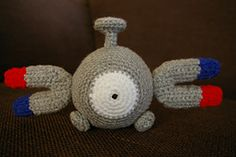 Ravelry: Magnemite (Pokemon) pattern by J. Lopez