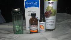I - 4 Details: Scented Bath Salts - Homemade! Quick, Easy, frugal and all natural! About 1.00 per batch!
