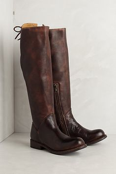 If you have my fashion wellbeing close to your heart you will give me these! Manchester High Boots #anthropologie