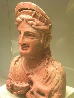 Phoenician goddess figure Museo de Cadiz