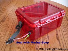 Palmetto Kayak Fishing: Kayak Battery Box for the 2012 Ride 135