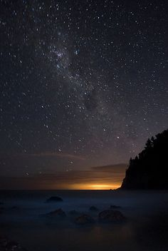staring at the Universe ---- The Milky Way