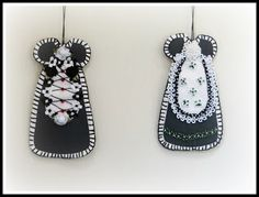 Linda Walsh Originals Dolls and Crafts Blog: My New Free Linda's How-Do-I Series? How To Make Our Victorian Cut and Sew Black Dress Ornaments E-Book Tutorial