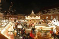 The Nuremberg Christkindlesmarkt, one of the oldest German Christmas markets, is. Best Christmas Markets Europe, Nuremberg Christmas Market, German Christmas Markets, German Markets, Pre Christmas, Christmas Town, Victorian Christmas, Time In Germany, Travel Magazines