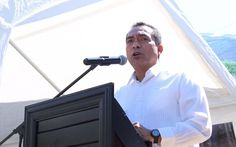 """El secretario de Gobierno de Michoacán encabezó en Jungapeo de Juárez los festejos por el CCXI Aniversario del Natalicio del """"Benemérito de las Américas"""", y desde donde hizo un llamado ..."""