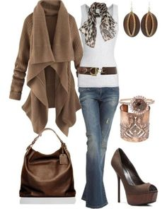 Brown fall outfit Winter Fashion Casual, Fall Winter Outfits, Autumn  Fashion, Love Fashion 6ee2d5dabe