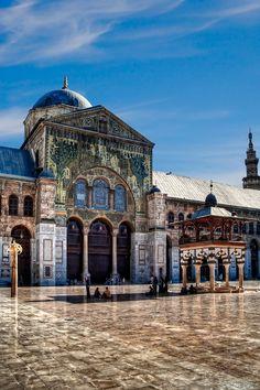 Omayyades Mosque, Damascus, Syria